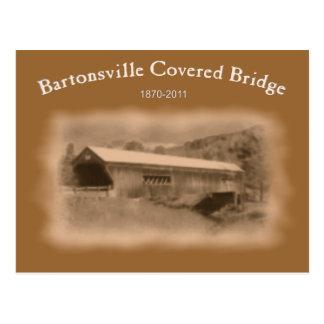 Carte Postale Mémorial de pont couvert de Bartonsville