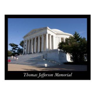 Carte Postale Mémorial de Thomas Jefferson