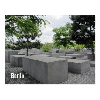 Carte Postale Mémorial d'holocauste de Berlin