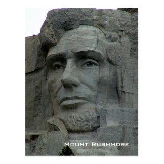 Carte Postale Mémorial national du mont Rushmore