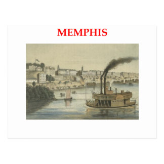 Carte Postale Memphis