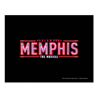 Carte Postale MEMPHIS - le logo musical