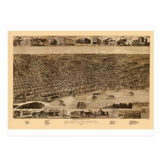 Carte Postale Memphis Tennessee 1887