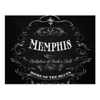Carte Postale Memphis, Tennessee - ville avec l'âme