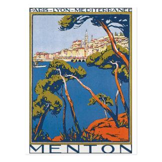 Carte Postale Menton