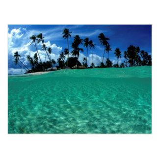 Carte Postale Mer et île, Indonésie