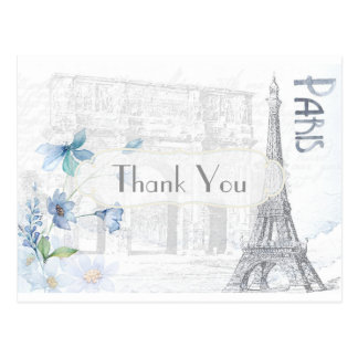 Carte Postale Merci orienté de Paris