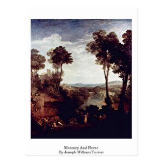 Carte Postale Mercury et Herse par Joseph William Turner