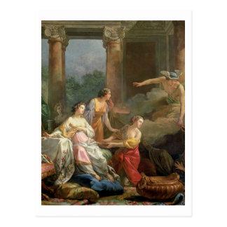 Carte Postale Mercury, Herse et Aglauros, 1763 (huile sur la