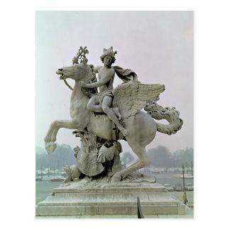Carte Postale Mercury sur Pegasus 1701-02