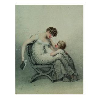 Carte Postale Mère et enfant