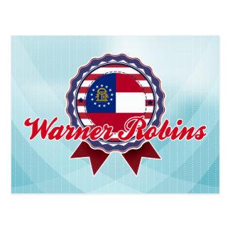 Carte Postale Merles de Warner, GA