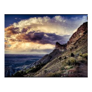 Carte Postale MESA Verde le Colorado
