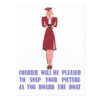 Carte Postale Messager de Catalina