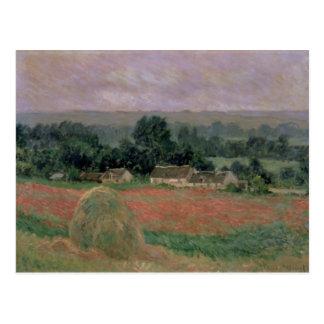Carte Postale Meule de foin de Claude Monet | chez Giverny, 1886