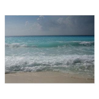 Carte postale mexicaine de plage