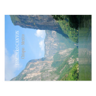 Carte postale | Mexique - canyon de Sumidero