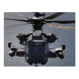 Carte Postale MH-53 pavent le bas hélicoptère
