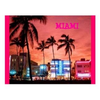 Carte Postale Miami Beach, la Floride