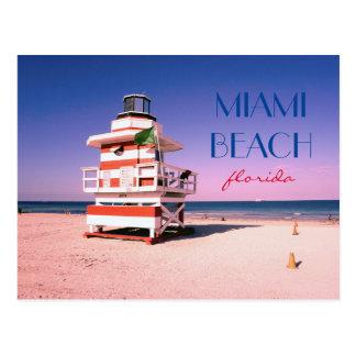 Carte Postale Miami Beach la Floride #01