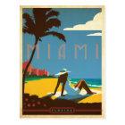 Carte Postale Miami, FL