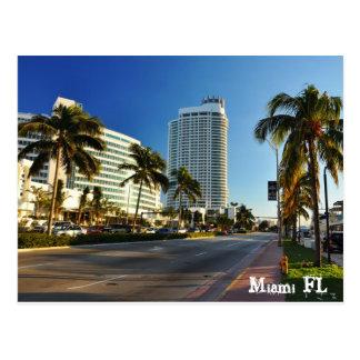 Carte Postale Miami FL