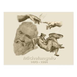 Carte Postale Michaël Angelo