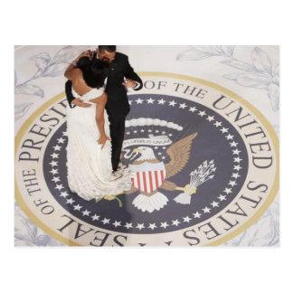 Carte Postale Michelle et Barack Obama