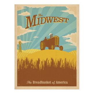 Carte Postale Midwest | la corbeille à pain de l'Amérique