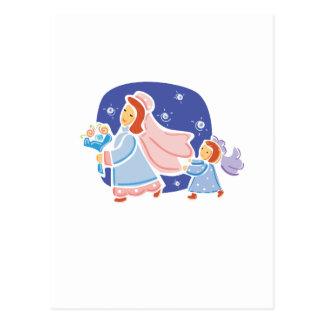"""Carte Postale Mignon, conception de """"demoiselle de honneur"""""""