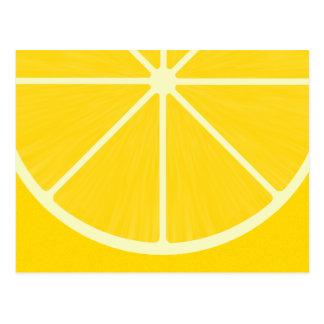 Carte postale mignonne de citron