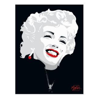 Carte Postale Miki Marilyn