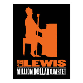 Carte Postale Million de quartet Lewis du dollar