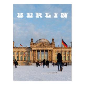 Carte Postale Milou Reichstag 01,2, BERLIN (Reichstag im Schnee)