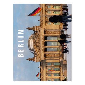 Carte Postale Milou Reichstag 1.6.T, BERLIN