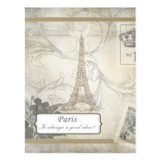 Carte Postale Minable :  Paris est toujours une bonne idée !