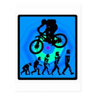 Carte Postale Mines d'état de vélo