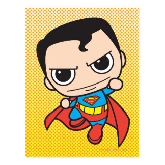 Carte Postale Mini voler de Superman