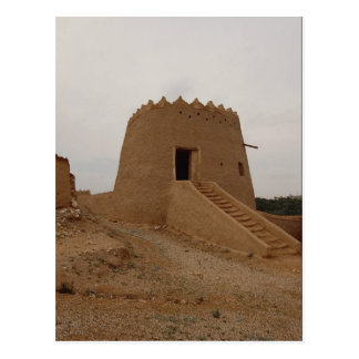 Carte Postale Mirador, vieille ville, Najd, Arabie Saoudite
