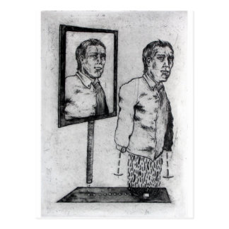 Carte Postale Miroirs