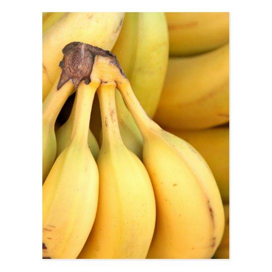 Carte Postale Miscellaneous - Banana Pattern