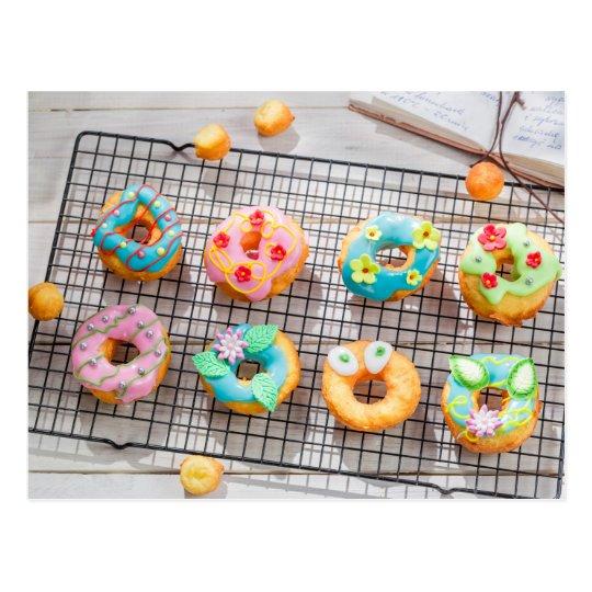 Carte Postale Miscellaneous - Cupcakes Patterns Seven