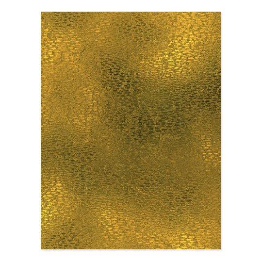 Carte Postale Miscellaneous - Gold Foil Nine Pattern