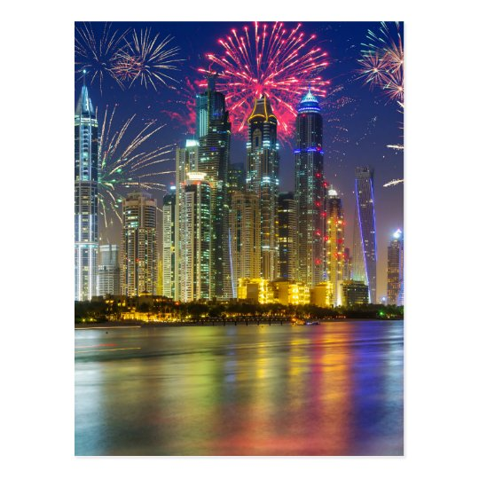 Carte Postale Miscellaneous - New Year Fireworks Patterns Seven