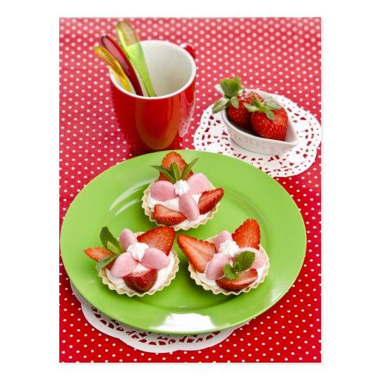 Carte Postale Miscellaneous - Strawberry With Cream Fourteen
