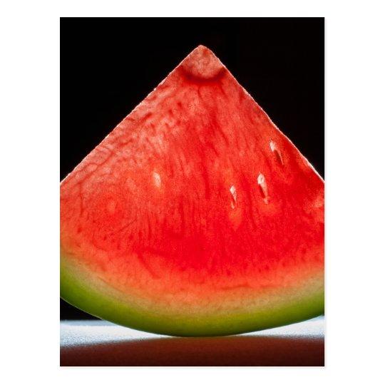 Carte Postale Miscellaneous - Watermelon Quarter Pattern
