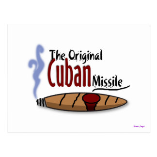 Carte Postale Missile cubain