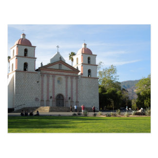 Carte Postale Mission de Santa Barbara, la Californie