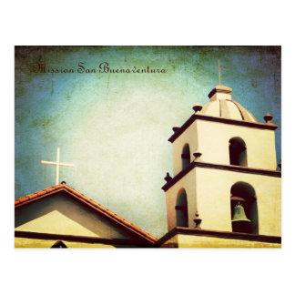 Carte Postale Mission San Buenaventura