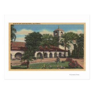 Carte Postale Mission San Juan Bautista, la Californie
